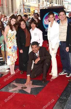 Masiela Lusha, Belita Moreno, Luis Armand Garcia, George Lopez, Constance Marie and Valente Rodriguez