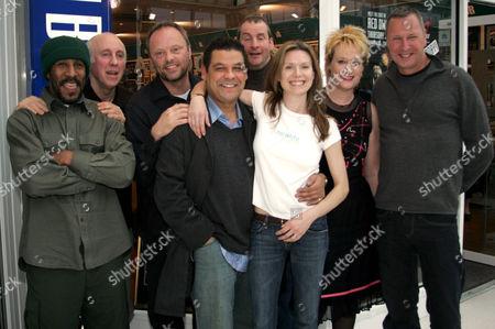 Danny John Jules, Norman Lovett, Robert Lewelwyn, Craig Charles, Chris Barrie, Chloe Annett, Hattie Hayridge and Ed Bye