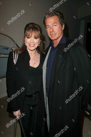 Stock Photo of Jackie Collins and Jack Scalia