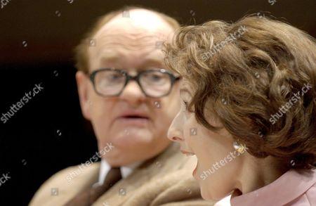 Oliver Ford Davis and Amanda Royle