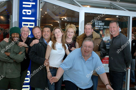 Stock Image of Danny John Jules, Norman Lovett, Robert Llewellyn, Craig Charles, Chloe Annett, Hattie Hayridge, Mac McDonald, Chris Barrie and Ed Bye