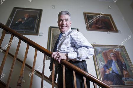 Editorial image of Vice-Chancellor of the Open University Martin Bean, Milton Keynes, UK - 14 Feb 2014