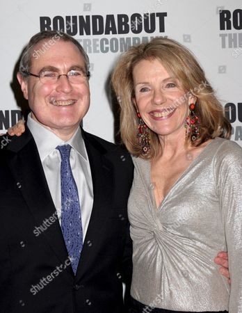 Todd Haimes and Jill Clayburgh