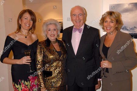 Lord Young and wife and daughters
