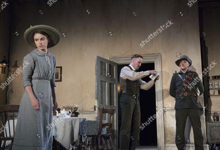 Judith Roddy as Nora Clitheroe, Fionn Walton as Jack Clitheroe, Adam Best as Capt Brennan