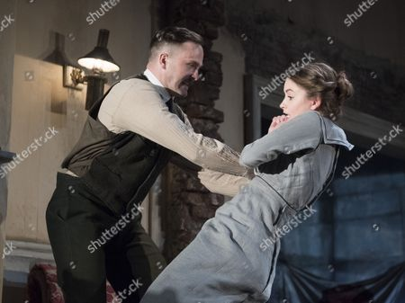 Fionn Walton as Jack Clitheroe, Judith Roddy as Nora Clitheroe
