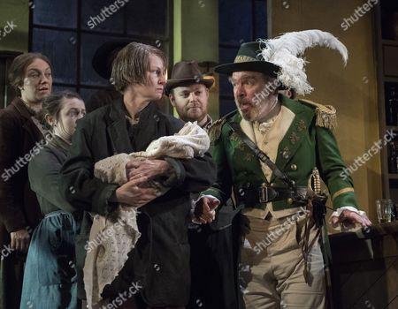 Josie Walker as Mrs Gogan, Lloyd Hutchinson as Peter