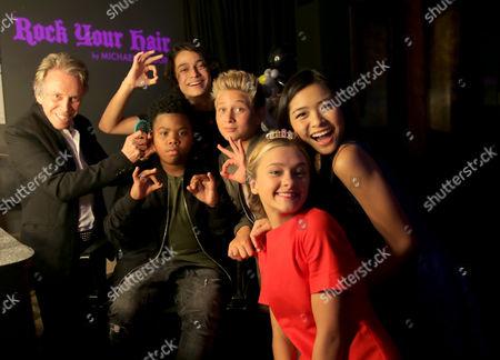 Rio Mangini, Finn Matthews, Ashley Liao, Lizzy Greene and Madisyn Shipman