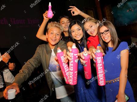 Finn Matthews, Ashley Liao, Lizzy Greene and Madisyn Shipman