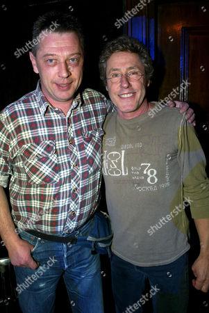 Andy Kershaw and Roger Daltrey
