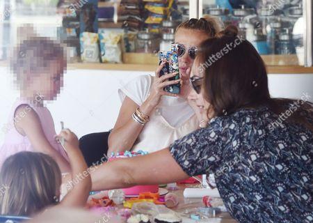 Petra Stunt, Lavinia Stunt, Tamara Ecclestone and Sophia Ecclestone-Rutland