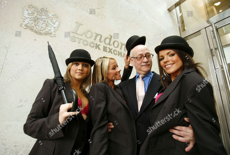 Stock Picture of Mrs Robinson - Paula Jade, Shereen Guerin and Tanya Robinson, with trader Ernest Henry