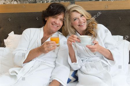 Stock Image of Michael Damian and Janeen Damian