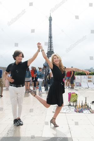 Stock Photo of Michael Damian and Janeen Damian