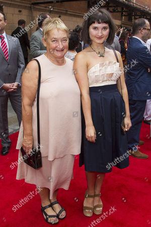 Janine Duvitski and Ruby Bentall