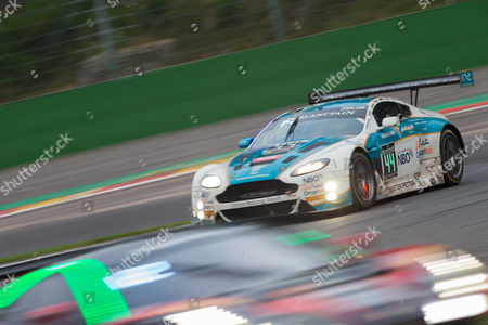 Car 44, Ahmad Al Harthy, Devon Modell, Jonathan Adam, Darren Turner during the Blancpain Endurance Series at Spa