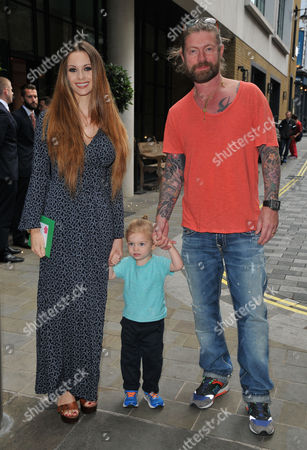 Jessica-Jane Stafford, Lee Stafford and their kid
