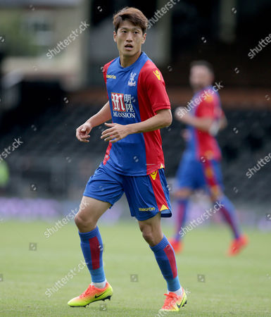 Chung-Yong Lee of Crystal Palace during the Pre Season Friendly match between Fulham and Crystal Palace at Craven Cottage, London - 30/07/2016 ©Matthew Impey / Wired Photos Picture by Matt Impey +44 7789 130347