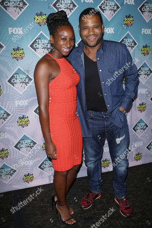 Kyra Anderson and Anthony Anderson