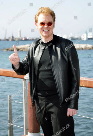 David Caruso during the 44th MIPTV (International Television Programme Market)
