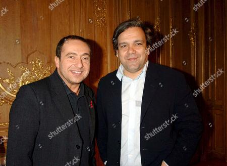 Patrick Timsit and Didier Bourdon
