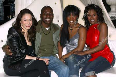 Dina Carroll, Tunde, Easther Bennet and Kelle Bryan