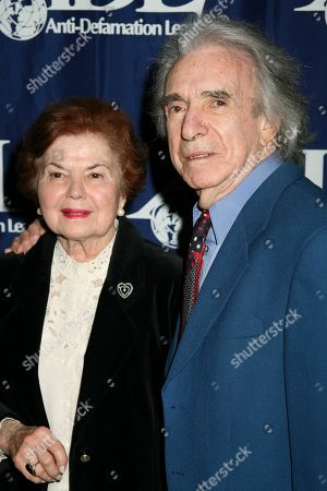 Arthur Hiller and wife