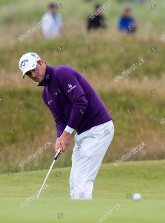 Mark Warren On The 17th On The Second Day Of The Open At St Andrews Golf - The Open 2015 - St Andrews