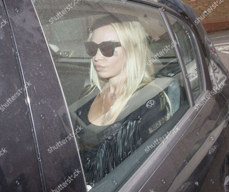 Scot Young Inquest Westminster Coroners Court. Picture Shows Mr Young's American Girlfriend Noelle Reno Leaving Court.