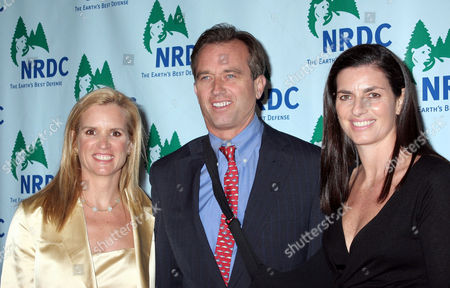 Kerry Kennedy Cuomo, Robert F. Kennedy Jr and wife Mary Richardson Kennedy