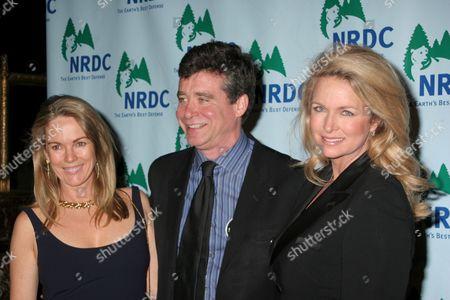 Anne Hearst, Jay McInerney, Donna Dixon