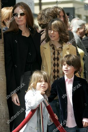 Stock Image of Page Hannah and Children