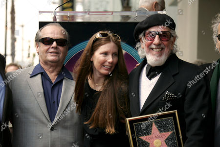 Jack Nicholson, Page Hannah and Lou Adler