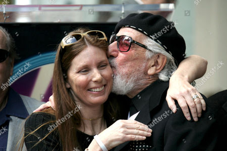 Page Hannah and Lou Adler