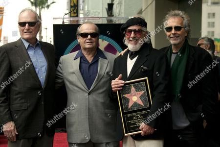 Jerry Moss, Jack Nicholson, Lou Adler and Herb Alpert