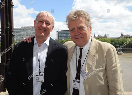 Editorial picture of Nicholas Lyndhurst Pictured With Nicholas Ball The Animal Sanctuary Holds A Drinks Reception At The House Of Lords Sponsored By Ba To Award Some Of The Volunteers That Have Helped Out. London 21/07/2015 Picture By Georgie Gillard.