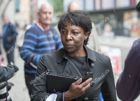 Constance Briscoe At The Old Bailey Today 27th July 2015. She Is Facing Contempt Of Court Charges.
