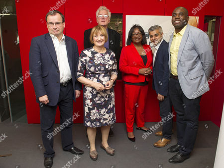 Candidates For The Labour Party Nomination For The 2016 London Mayoral Election Participate In Live Debate On Bbc London Radio. Candidates Are Left-right-gareth Thomas Christian Wolmar Tessa Jowell Diane Abbott Sadiq Khan And David Lammy. With Presenters Penny Smith And Paul Ross.