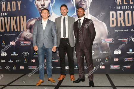 Editorial picture of Matchroom Press Conference, Boxing, Dorchester Hotel, London, UK - 01 Aug 2016