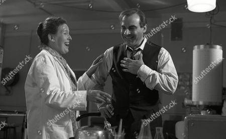 David Suchet with Marlene Sidaway