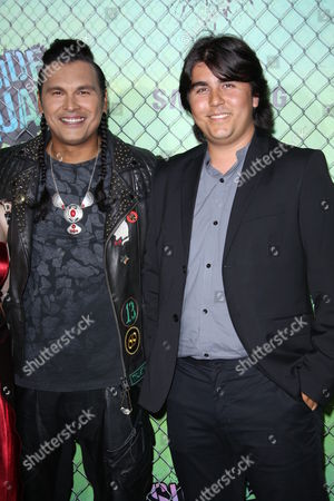 Adam Beach and son