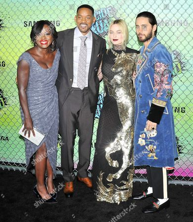 Viola Davis, Margot Robbie Jones, Will Smith, Jared Leto