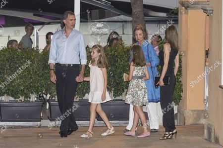 Editorial image of Spanish royal family out and about, Majorca, Spain - 31 Jul 2016