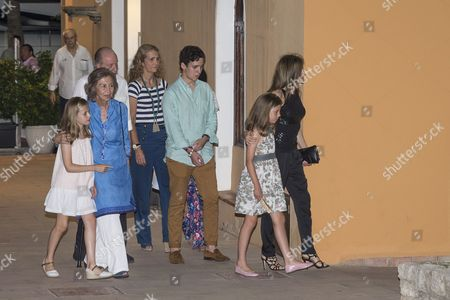 Editorial picture of Spanish royal family out and about, Majorca, Spain - 31 Jul 2016