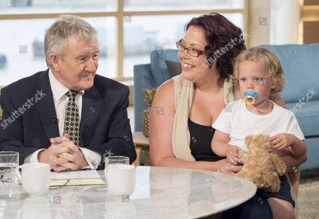 Stock Image of Dr Chris Steele, Sarah Allen and Jasper Allen