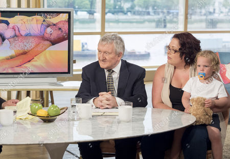 Dr Chris Steele, Sarah Allen and Jasper Allen