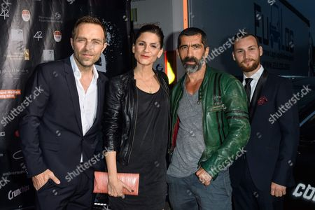 Editorial picture of 'Collide' film premiere, Cologne, Germany - 01 Aug 2016