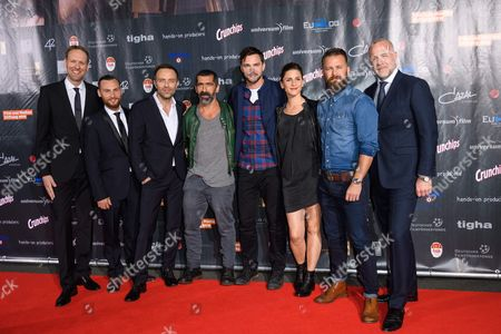 Editorial image of 'Collide' film premiere, Cologne, Germany - 01 Aug 2016