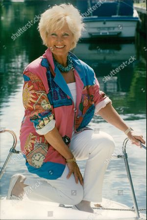 Sylvia Anderson Who Was The Lady Whom The Character Lady Penelope In The Sixties Cult Series Thunderbirds Was Based On. She Is The Former Wife Of Gerry Anderson Who Created The Series. Box 686 11905164 A.jpg.