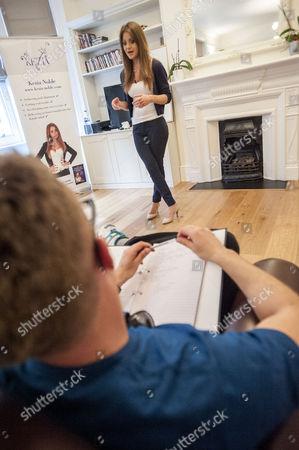 Editorial image of 'Celebrity dating coach' Kezia Noble, London, UK - 23 Jun 2016